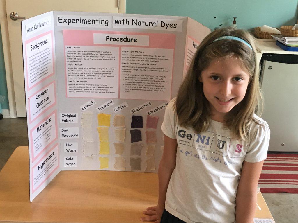 First Elementary Science Fair was a wonderful success!